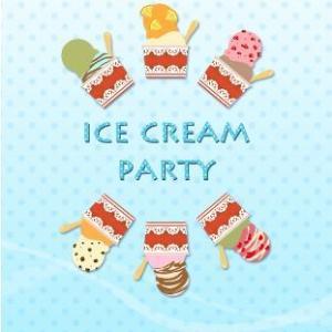アイスクリーム パーティー