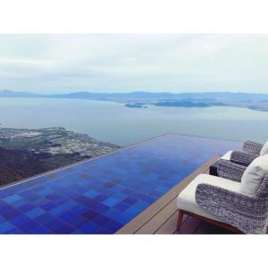 子連れでおでかけ|天空のリゾート♡びわ湖テラスのカフェがおすすめ!インフィニティラウンジで絶景アフタヌーンティー♡|滋賀 琵琶湖|THE BIWAKO Terrace