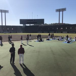 野球が結ぶ仙台と倉敷
