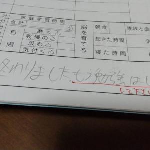 こどもの懇談~テスト終わりました。もう勉強はしません。