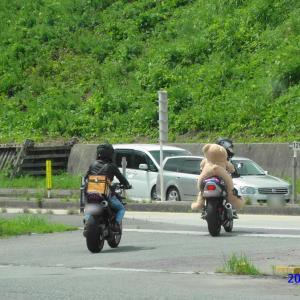 バイクでのツーリング