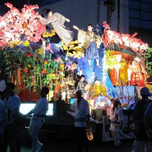 新庄の宵祭り始まる