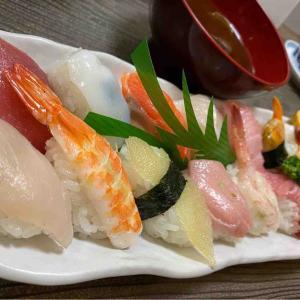 初めての お寿司ランチ🍣