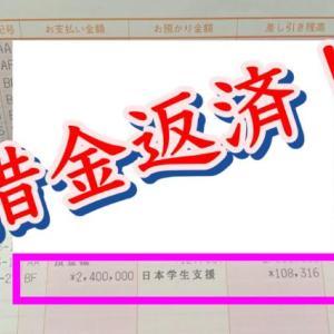 【大学生の借金】合計○○○万円!奨学金を一括で返済してみた