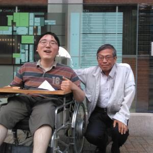 福祉100人インタビュー 第ニ弾東大阪市障害者生活支援センターひびきの石田さん