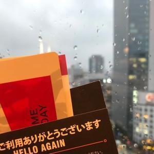 【格安プラン】朝食付き格安プランでアロフト東京銀座に宿泊してまいりました