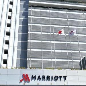名古屋マリオットアソシアホテルのスイートルームに宿泊