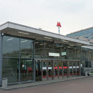 モスクワ地下鉄・クトゥーゾフスカヤ駅