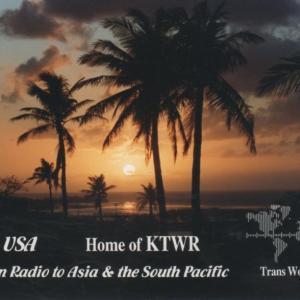 2019年11月21日 KTWR DRMの受信