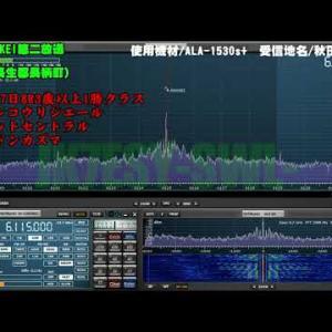 2020年10月31日 ラジオNIKKEI第二放送-スワンステークスの受信