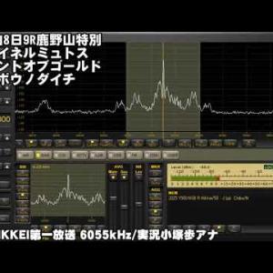 2021年4月18日 ラジオNIKKEI第一放送-皐月賞の受信