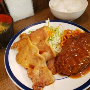 【キッチン大正軒 @ 有楽町】東京交通会館内にある古き良き定食屋【ハンバーグしょうが焼き定食】