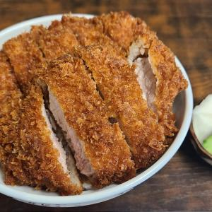 【今井屋@寄居】創業1904年、変わらない味のソースかつ丼を楽しめるお店【かつ丼】