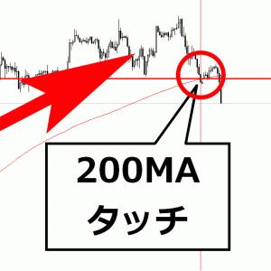 FX、200MAを使った簡単トレードでサクッと20~30pips獲得