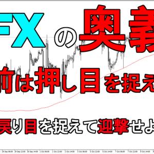 FXの奥義は難しく考えずトレンドフォロー!戻し売りと押し目買いが基本
