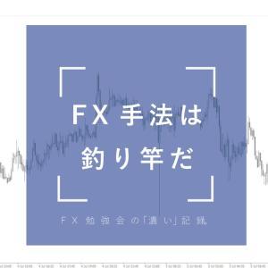 FX手法はいわゆる釣り竿