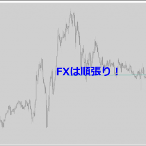 FXで逆張りは苦しい。順張りで確実なところを狙っていこう!