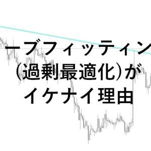 FXでカーブフッティングを防ぐチャート分析手法