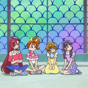 【トロピカル~ジュ!プリキュア】座り方に性格出てるのいいよね!!【トロプリ】