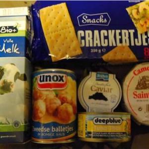 オランダのスーパーマーケットで買ったもの。メイドインオランダの食材を探す旅。