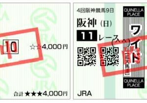 2019ポートアイランドステークス結果(ワイド400円,複勝140円的中)