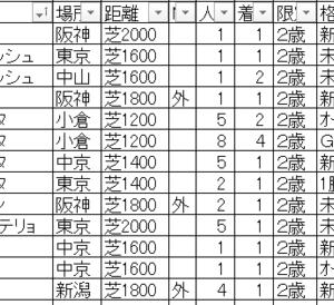 2019東京スポーツ杯2歳ステークス TEKIKAKU予想