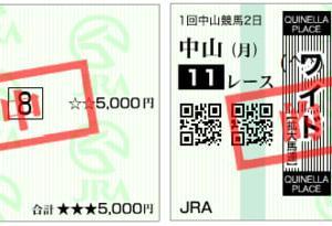 2020カーバンクルステークス結果(複勝150円,ワイド390円的中)