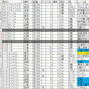 2020函館記念 TEKIKAKU予想