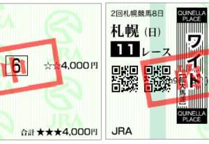 2020丹頂ステークス結果(複勝250円,ワイド1500円,510円(ダブル)的中)