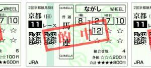 2019京都記念結果(3連複2190円,馬連1510円,複勝220円的中)