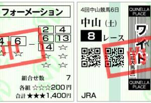 【万馬券的中】2020清秋ジャンプステークス結果(馬連13410円,ワイド3720円的中)