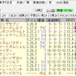 2020秋陽ジャンプステークス結果