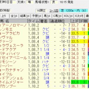 2020京阪杯(阪神) 結果