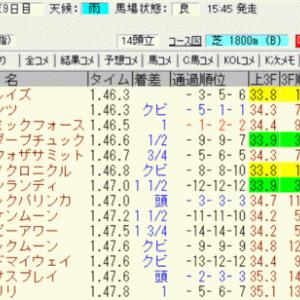 2021メイステークス結果(馬連1610円,3連複2240円的中)