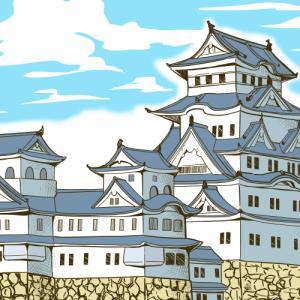 「三井のリハウス」様のライフマガジンサイト「Relife mode」で姫路城を描かせて頂いた!