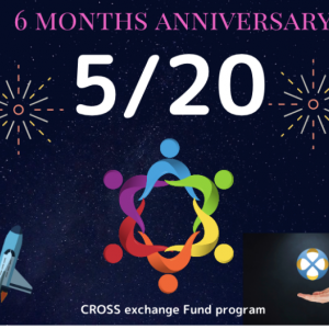 CROSS EXCHANGE 取引所開設6ヶ月記念♪ 約50万米ドル分のXEX買い戻しを実施
