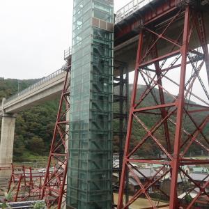 山陰本線浜坂駅と餘部鉄橋周辺散策