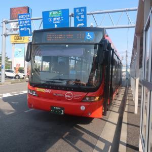 【連接バスで運行】新潟BRT快速便乗車記(新潟駅15:47→青山16:14)