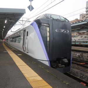 【東京直通】特急あずさ4号乗車記(松本6:30→東京9:25)特急列車日本縦断8