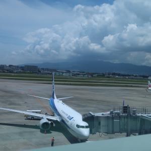 ANA783便 (伊丹13:00→長崎14:15)搭乗記。伊丹空港食堂OASIS とANAアプリに見るMaaS