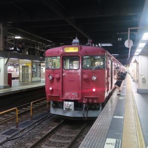 七尾線乗車記(金沢14:30→七尾16:13)