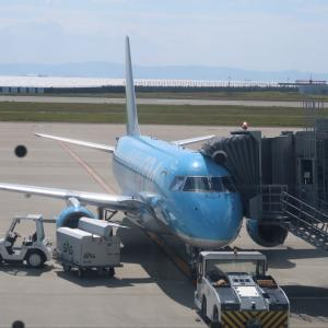 FDA神戸青森線(FDA833便・JAL2633便)搭乗記。神戸11:45→青森13:25。