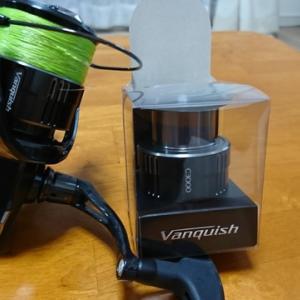 Vanguish 3000MHGとC3000替えスプール