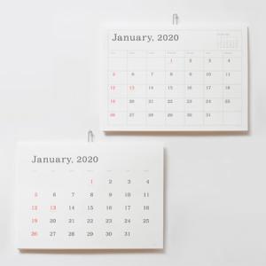 【2020年版】おしゃれな壁掛けカレンダー11選。北欧・かわいい・シンプルなデザインもおすすめ