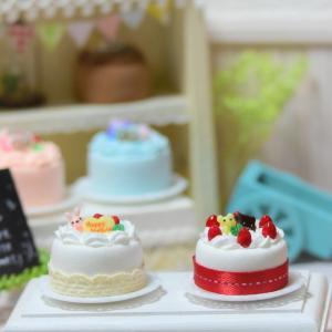 ミニチュアケーキの作り方を動画にしました