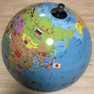 コストコでしゃべる地球儀を誕生日プレゼントで買ってみました