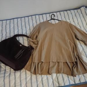 お洋服とバッグ買った