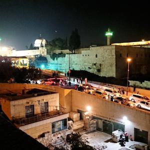 """""""聖地エルサレム""""旅行記ブログ-34  エルサレム夜の旧市街地でユダヤ文化を肌で感じる編"""