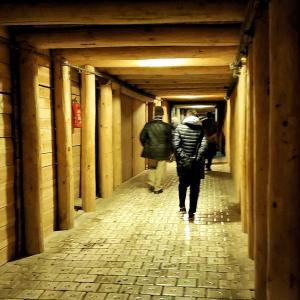 ヴィエリチカ岩塩坑内の地下深くにあるトイレは綺麗?編-ポーランド旅行記-42