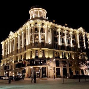 シェラトンホテル&夜のワルシャワで「新世界通り」を歩く編-ポーランド旅行記-55
